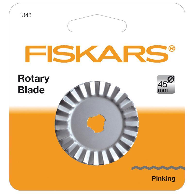 Fiskars Rotary Blade: 45mm: Pinking Cutter