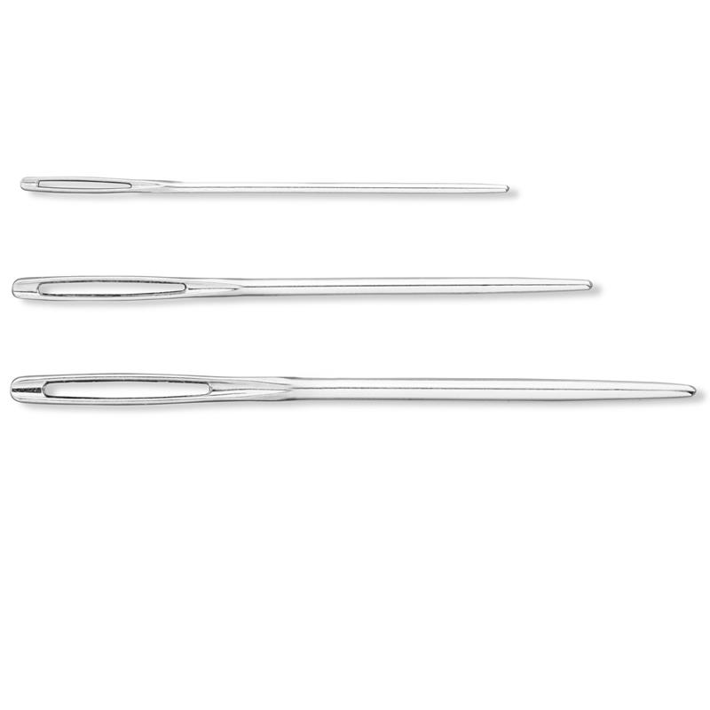 Wool And Tapestry Needles No. 1,3,5 Steel Silver Col