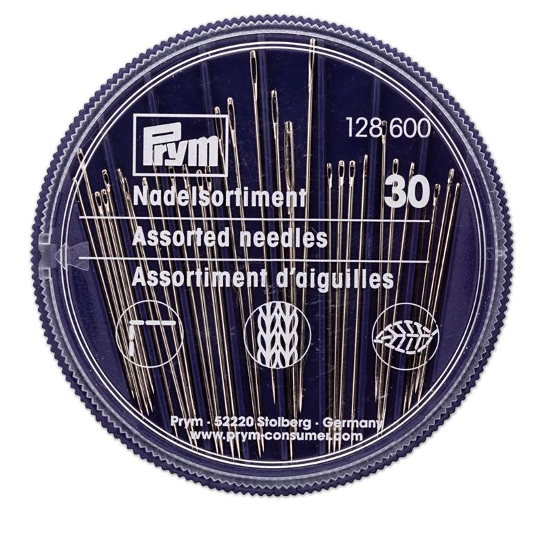 Hand Sewing/Tapestry/Darning Needles (30) in a Compact Dispenser