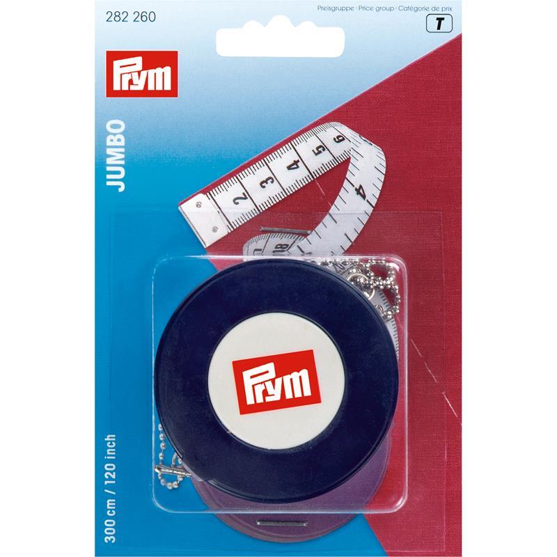Spring Tape Measure Jumbo cm/inch 300cm/120 Inch
