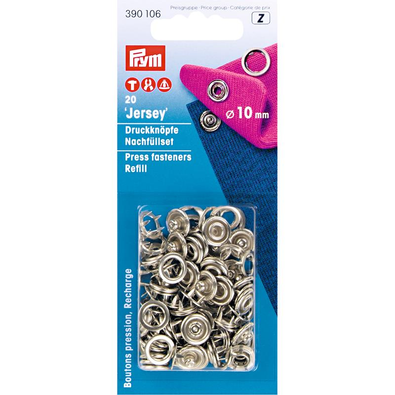 Refill Packs For 390107 - Silver Coloured 10mm Ring 390106