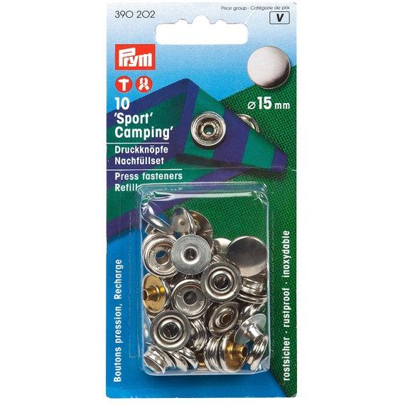 Refill Packs Brass (For Sport & Camping 390201) 15mm Silver Colour - 390202