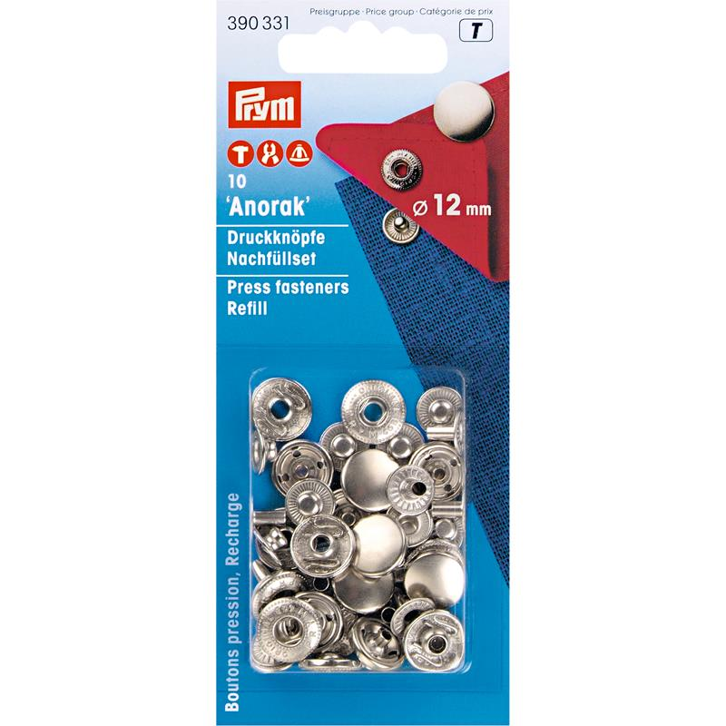 Refill Packs Brass For 390330 12mm Silver Col