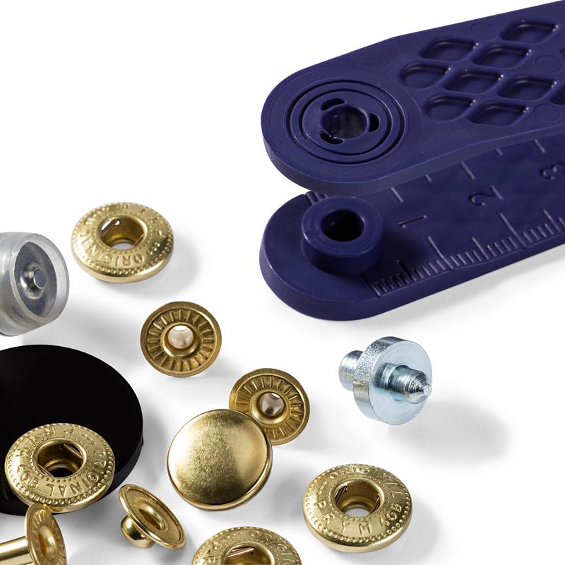 Non-Sew Fasteners For Anoraks - 12mm - Various Colours