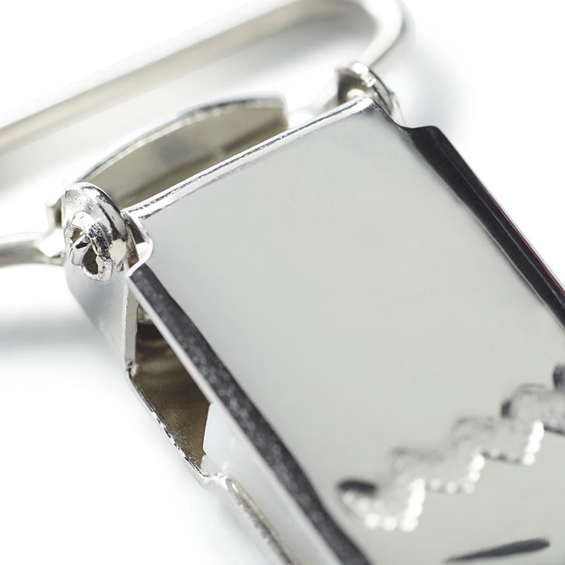 Brace Clips Steel 25mm Silver Col