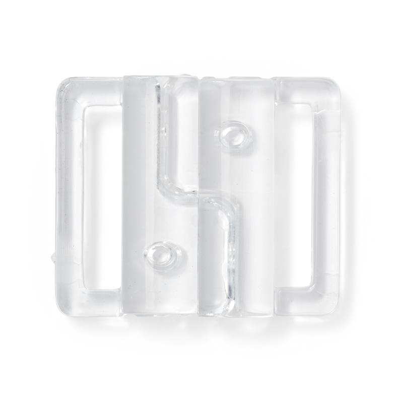 Bikini And Belt Clasp Hook Plastic - Transparent