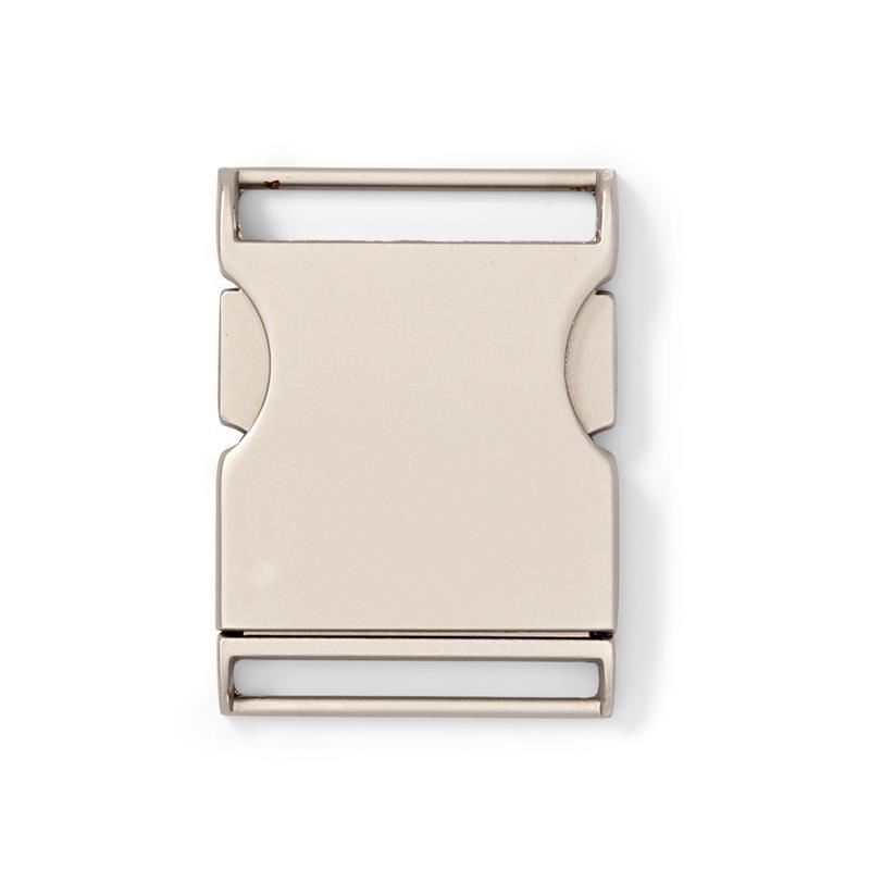Belt Buckle Silver Coloured Matt