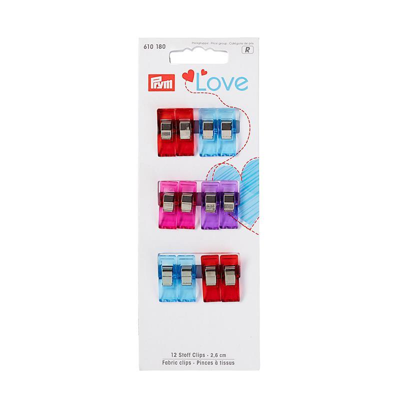Prym Love Fabric Clips 2,6 Cm
