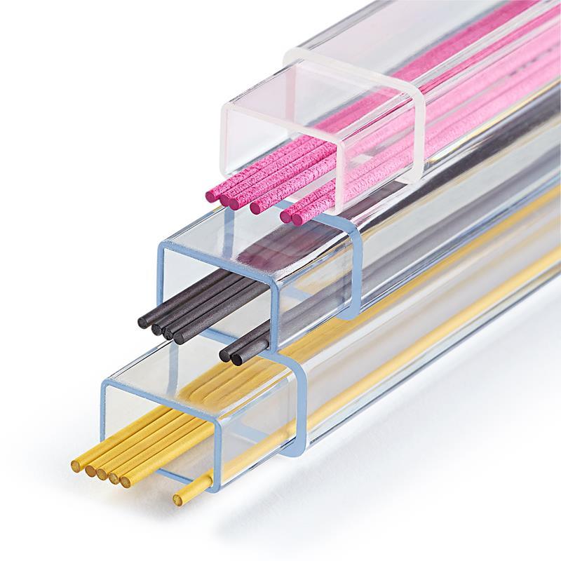 Refills For Cartridge Pencil Yellow/Black/Pink