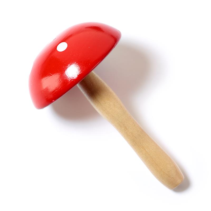 Darning Mushroom Hardwood Natural Lacquered -  Toadstool