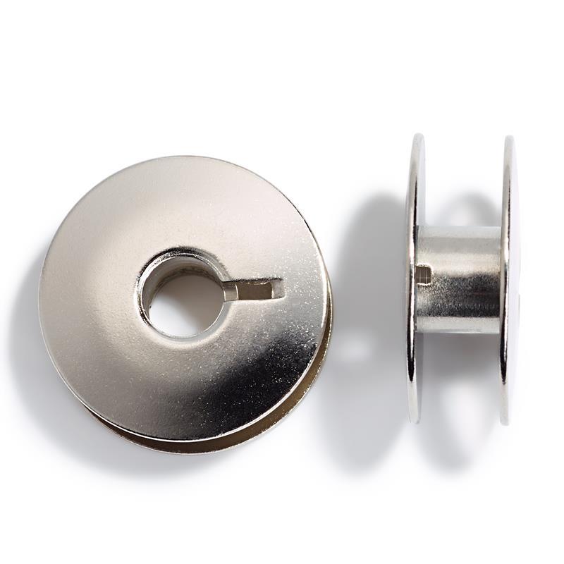 Sewing Machine Bobbins - Double Rotary Shuttle - Metal 21.9mm