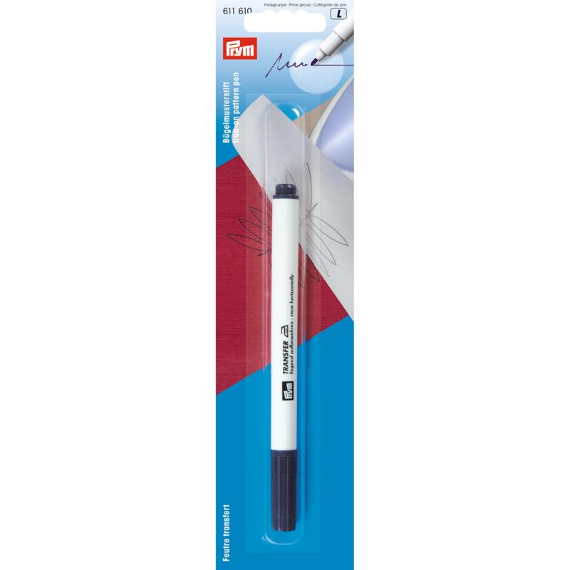 Iron-On Pattern Pen Fibre Tip - Purple
