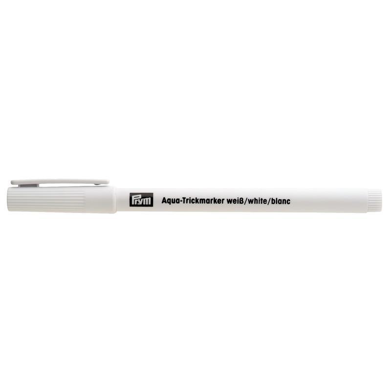 Aqua Marking Pen Water Erasable White