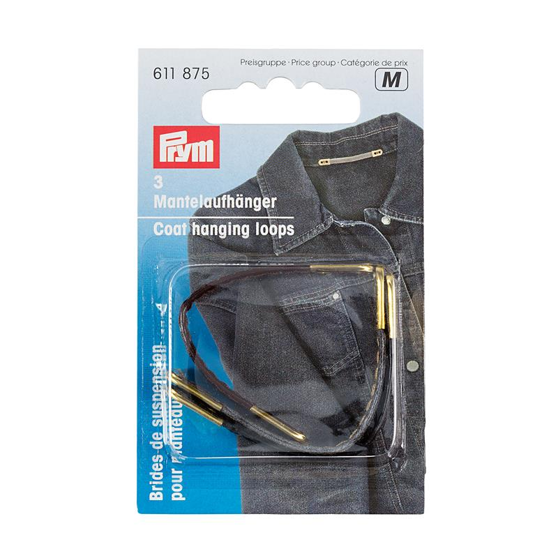 Coat Hanging Loops Artificial Leather Assorted Cols
