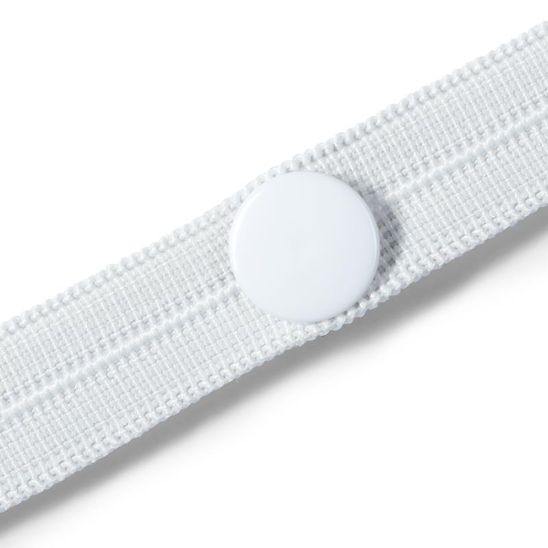 Buttonhole Elastic With 3 Buttons 12mm