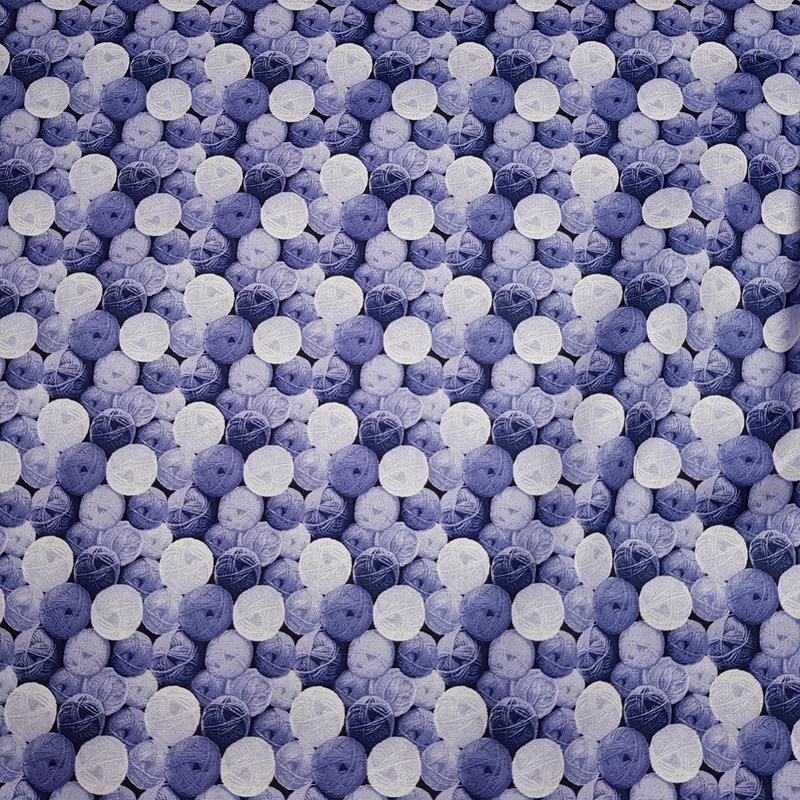 Balls of Wool - Blue - Paintbrush Studio