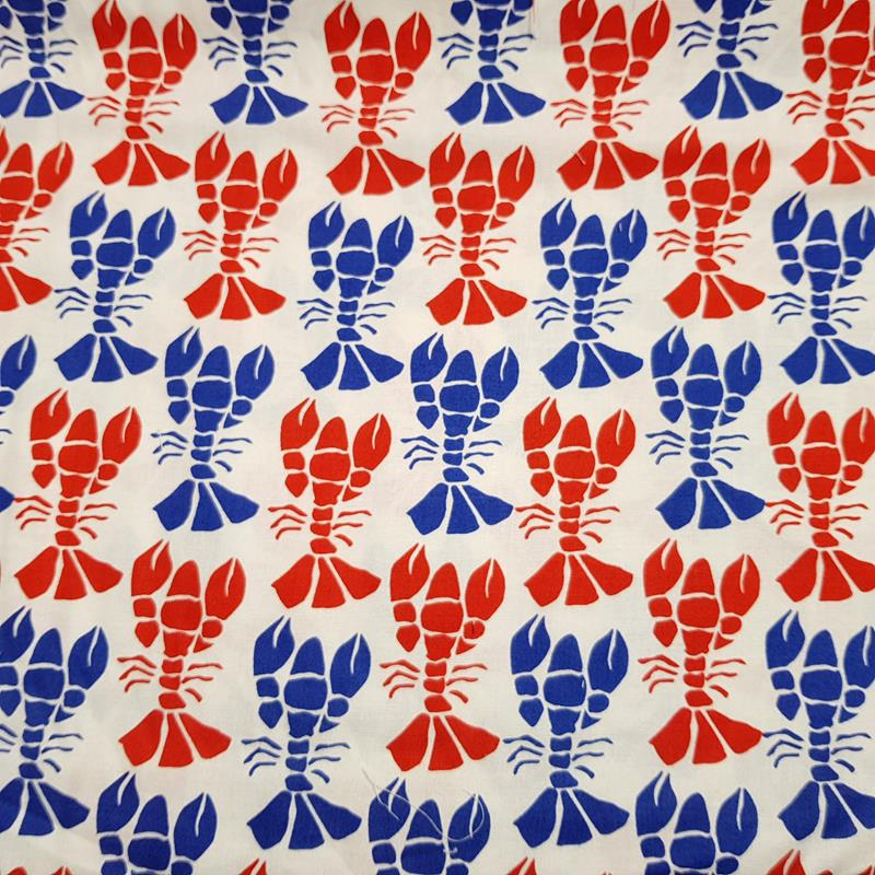 Beach House - Costal Lobsters - Moda Fabrics