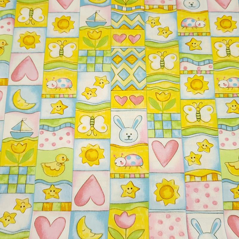 Party Animals - Cute Baby Fabric - Fabri-Quilt