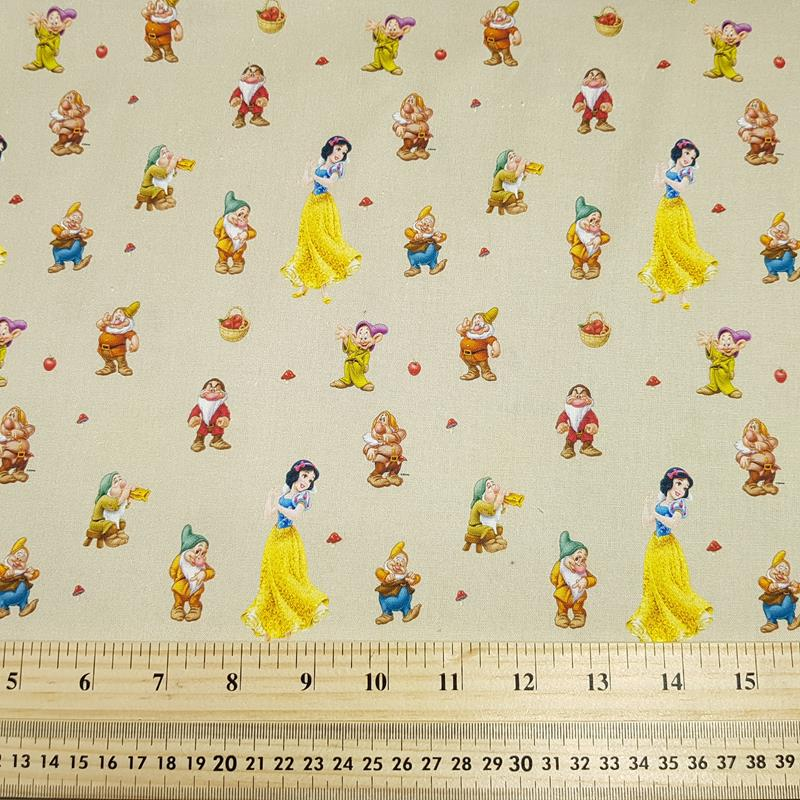 Snow White - Craft Cotton - Licensed Prints
