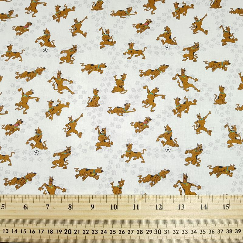 Scooby Doo - Craft Cotton - Licensed Prints