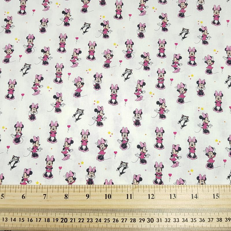 Minnie Mouse - Craft Cotton - Licensed Prints