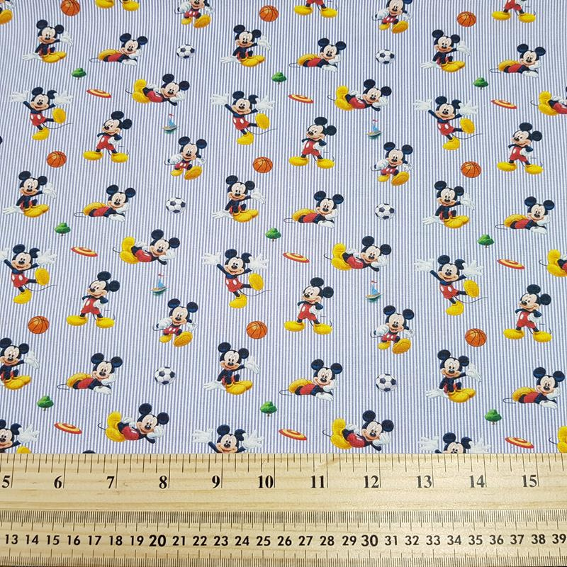 Sport Mickey - Craft Cotton - Licensed Prints