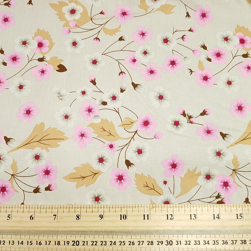 Cherry Blossom - Cotton Poplin