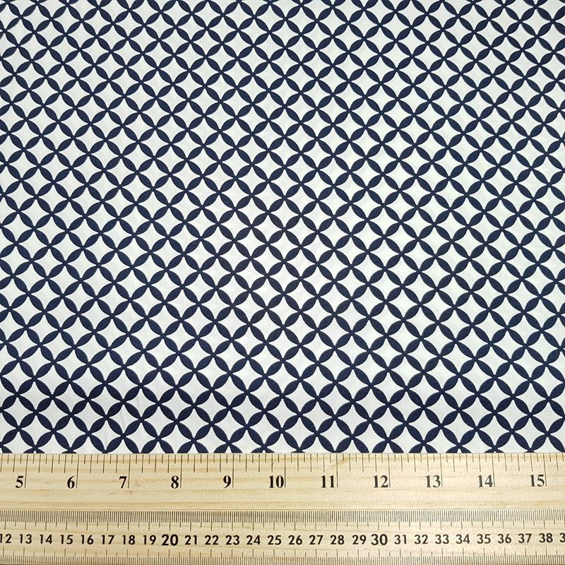 Diamond Trellis - Cotton Poplin