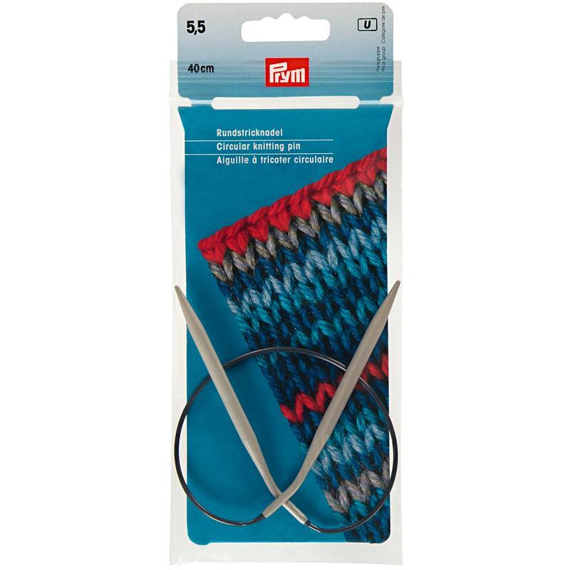 Circular Knitting Pins Aluminium  40cm