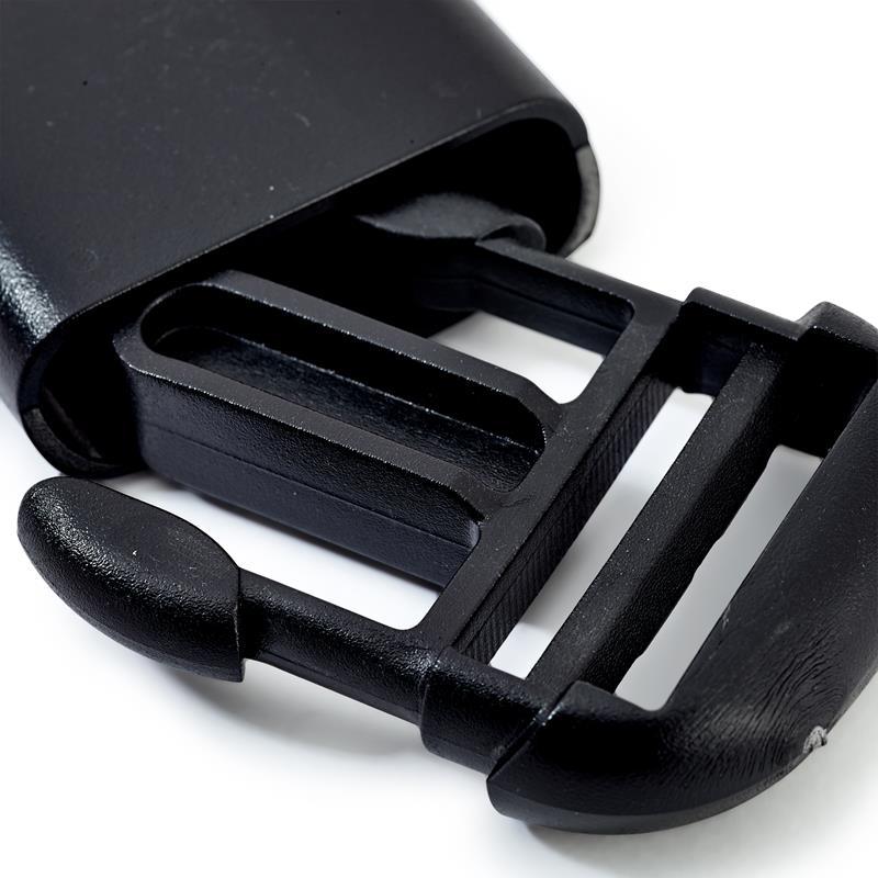 Clip Buckles (Bum Bag Clips) Plastic Black