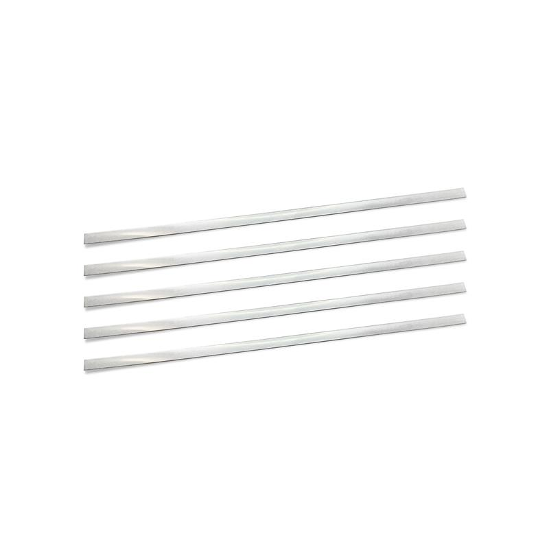 Nose bar for masks - 3 mm - silver-coloured x 8 pieces
