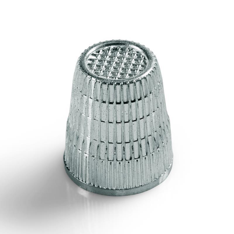Thimble Zinc Die-Cast Silver Colour - Loose