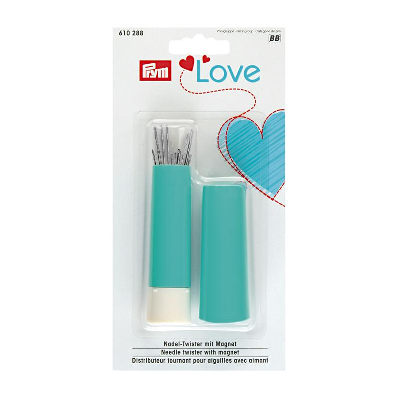 *Prym Love Sewing/Darning Needle Assortment In Needle Twister - Mint