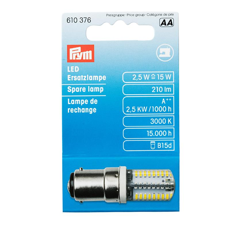 MATT *Led Spare Lamp For Sewing Machine 2,5 W Bayonet