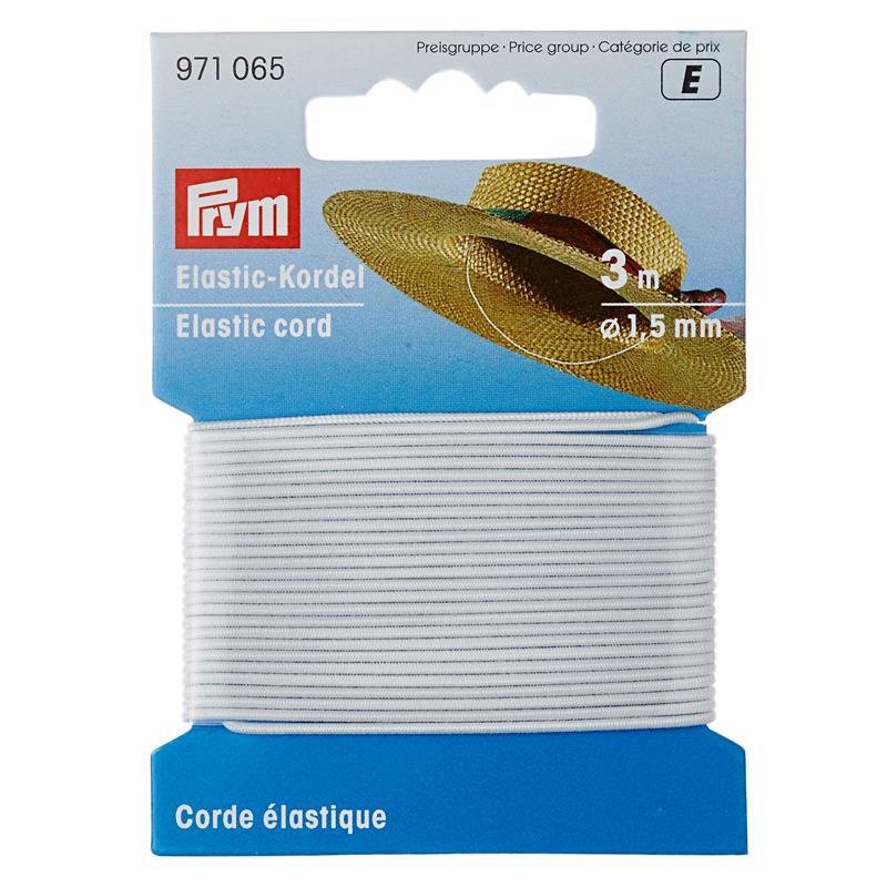 Elastic-Cord 1.5mm - Contents: 3 Metres. sku 971065