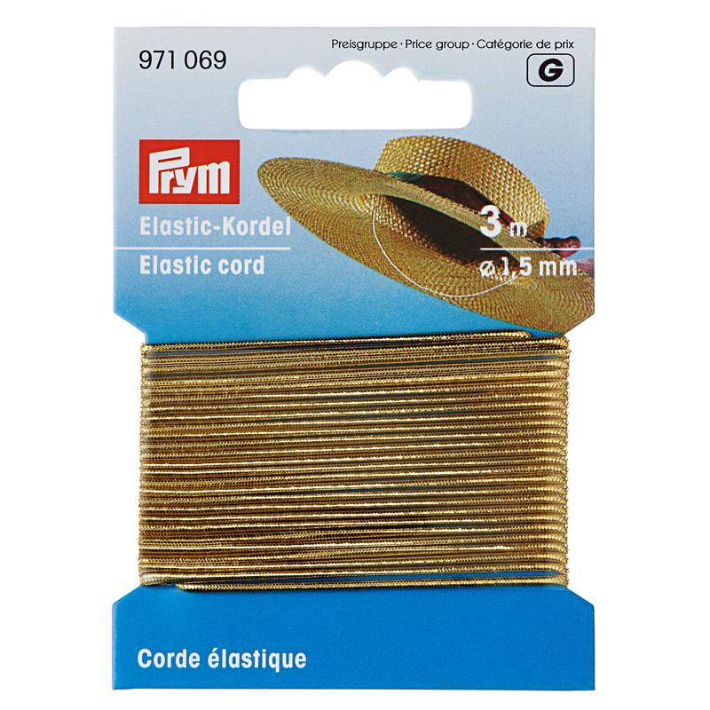 Elastic-Cord 1.5mm - Contents: 3 Metres