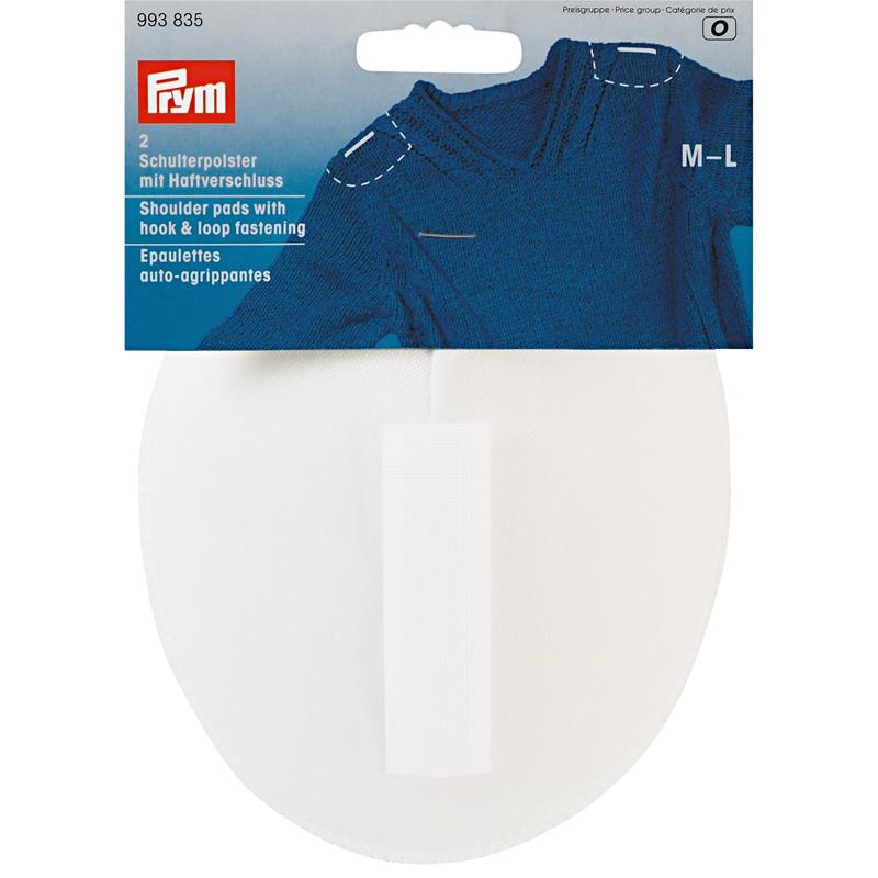 *Shoulder Pads Raglan With Hook And Loop Fastening  - Contents: 2pcs