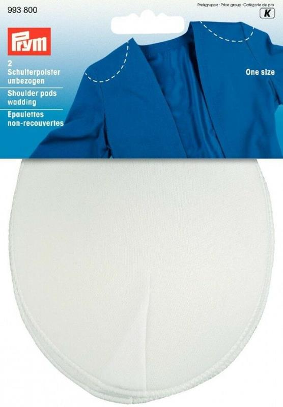 *Shoulder Pads Raglan Without Hook And Loop Fastening  - Contents: 2pcs