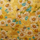 Clearance Craft Cottons - Bee Kind