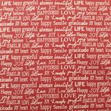 Clearance Craft Cottons - Words to Live By