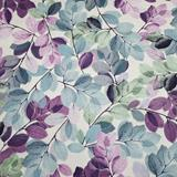 Sheer Leaves - Purple - Kanvas Studio