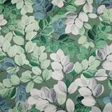 Sheer Leaves - Green - Kanvas Studio