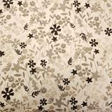 Clearance Craft Cottons - Grey/Black Wildflowers