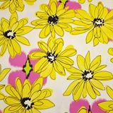 Shadows Paintbox - Yellow Flowers on White - Contempo Studio