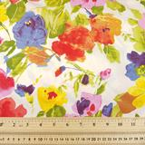 Cotton Poplin - Colourful Flowers