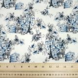 Tourist Attractions - Printed Cotton Sateen