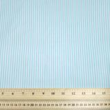 Stripes - Light Blue - Polycotton