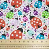 Ladybirds - Multi - Polycotton