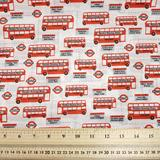 London Double-deckers - Polycotton