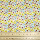 Small Flowers - Polycotton